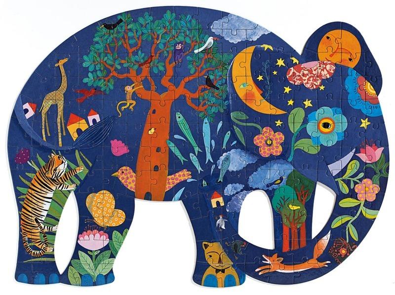 P644: 150 piece Puzzle - Elephant