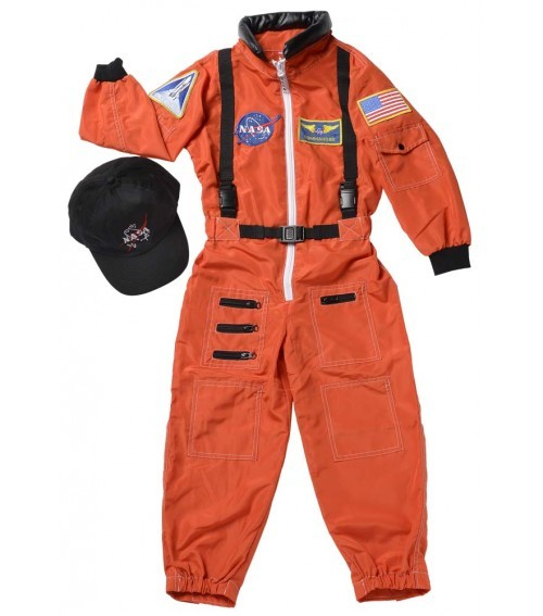 E095: Astronaut Suit Dress Up
