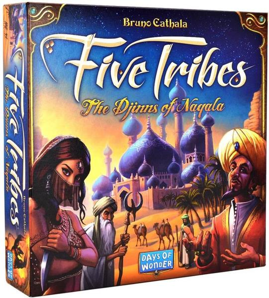 G772: Five Tribes Game