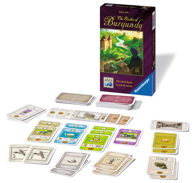 G791: Castles of Burgundy - The Card Game