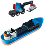 V041: Brio Action Tunnels and Freight Ship