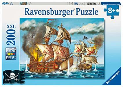 P143: 200 piece Puzzle - Pirate Ship