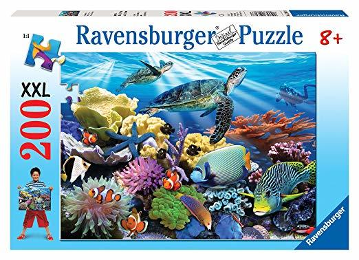 P505: 200 piece Puzzle - Ocean Turtles