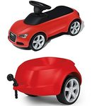R106: Audi Ride-On - Red with Trailer