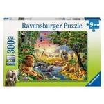 P653: 300 piece Puzzle - Sunset at the Waterhole