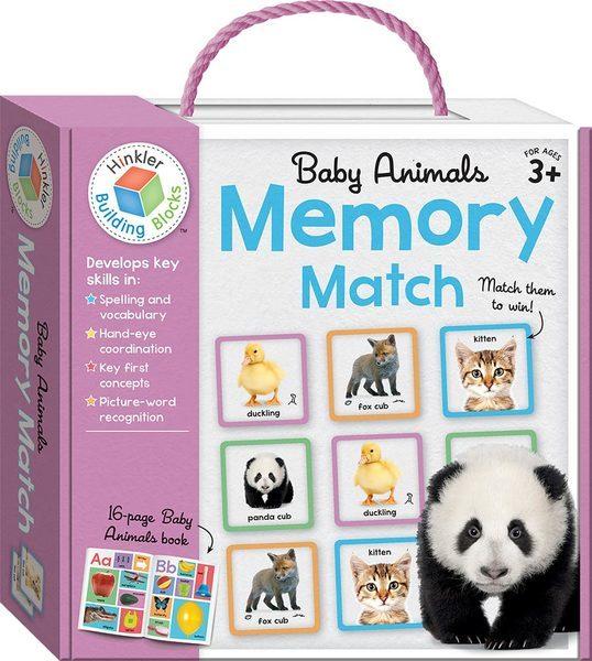 G888: Baby Animals Memory Match