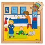 P663: Brushing Teeth Puzzle
