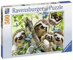 P673: 500 piece Puzzle - Sloth Selfie