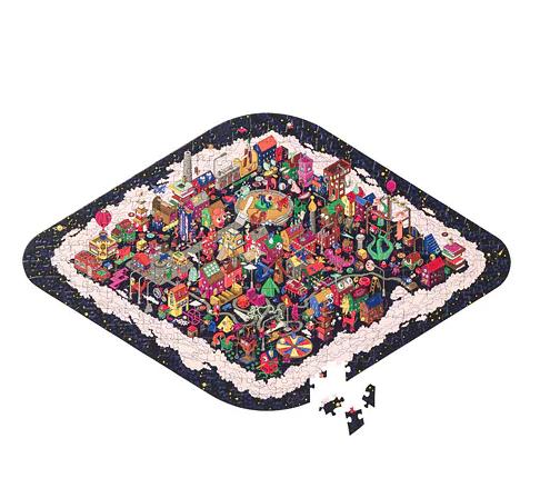 P684: 211 piece IKEA Puzzle