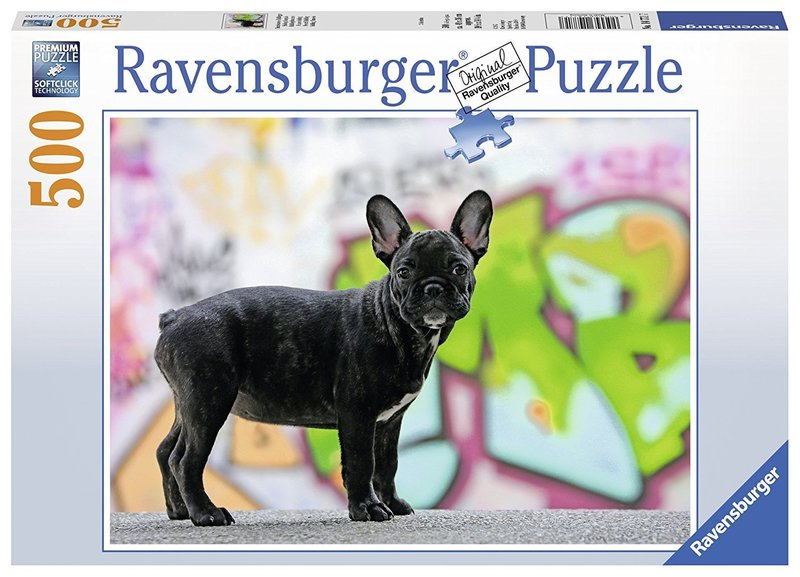 P024: 500 piece Puzzle - French Bulldog