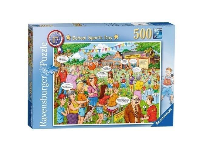 P242: 500 piece Puzzle - School Sports Day