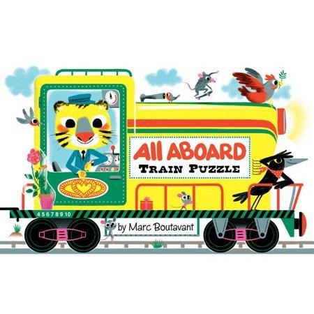 P434: All Aboard Train Puzzle