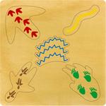 P647: Animal Tracks Inset Puzzle