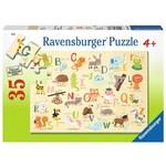 P711: Animal ABC Puzzle