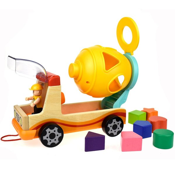 V100: Cement Mixer Shape Sorter