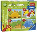 P715: Jolly Dinos - 4 First Puzzles