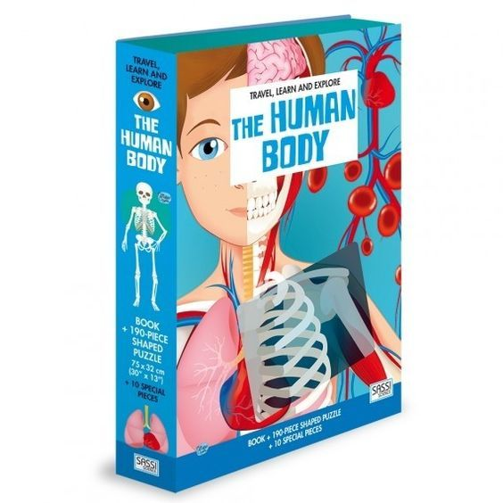P726: 200 piece Puzzle - The Human Body