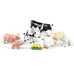 I110: Jumbo Farm Animals - Mama and Baby Set