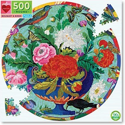 P300: 500 piece Puzzle - Bouquet and Birds