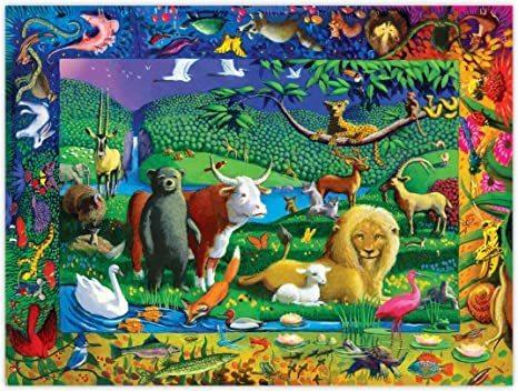P736: 500 piece Puzzle - Peaceable Kingdom