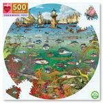P740: 500 piece Puzzle - Fish and Boats