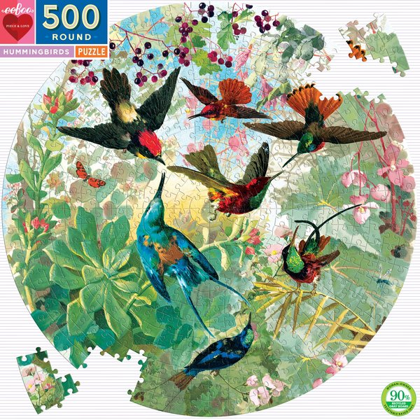 P741: 500 piece Puzzle - Hummingbirds