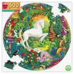 P744: 500 piece Puzzle - Unicorn Garden