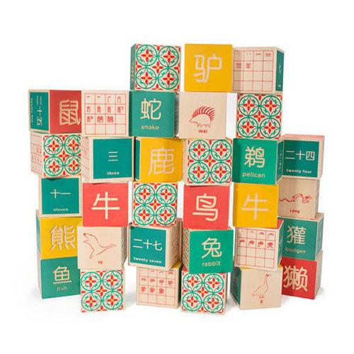 D165: Mandarin Chinese Blocks
