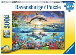 P308: 300 piece Puzzle - Dolphin Paradise