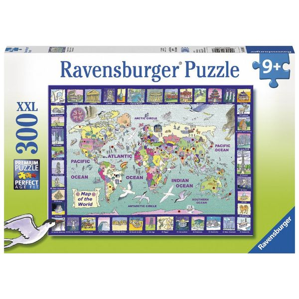 P747: 300 piece Puzzle - Looking at the World