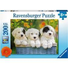 P748: 200 piece Puzzle - Cuddly Puppies