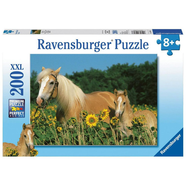 P749: 200 piece Puzzle - Horse Happiness