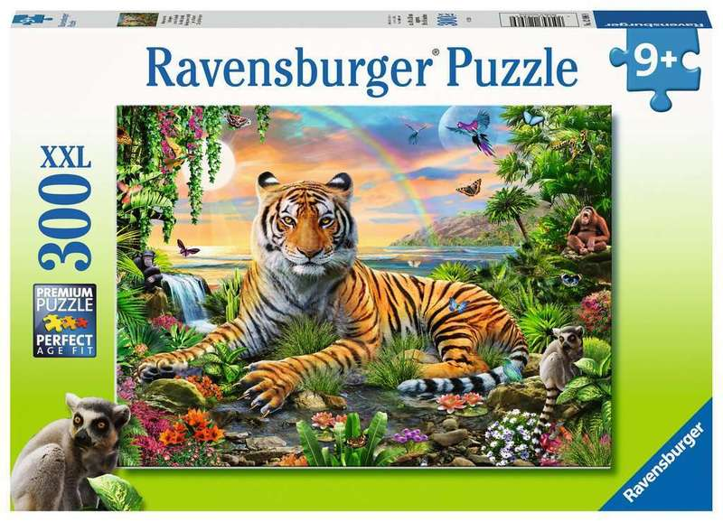 P751: 300 piece Puzzle - Tiger at Sunset