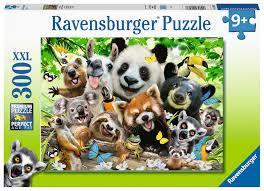 P761: 300 piece Puzzle - Wildlife Selfie