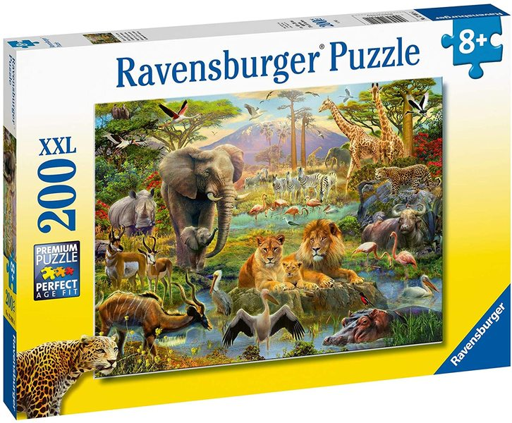 P775: 200 piece Puzzle - Animals of the Savannah