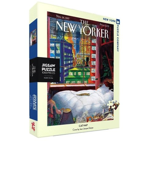 P778: 1000 piece Puzzle - The New Yorker - Cat Nap