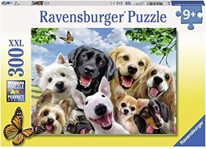 P780: 300 piece Puzzle - Delighted Dogs