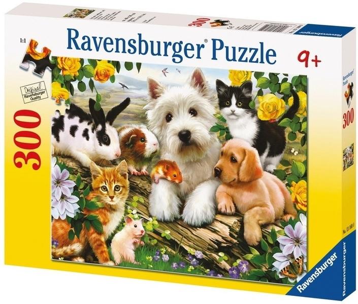 P782: 300 piece Puzzle - Happy Animal Buddies