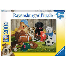 P787: 200 piece Puzzle - Let's Play Ball!