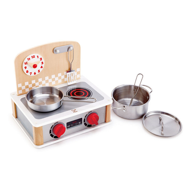 E314: 2-in-1 Kitchen and Grill Set
