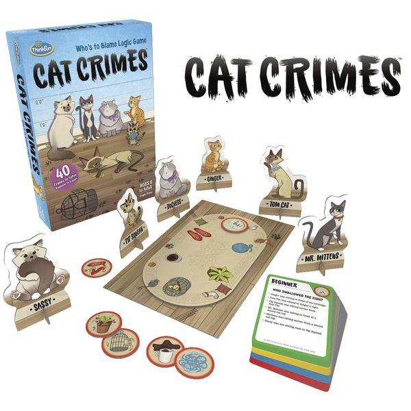 T055: Cat Crimes Logic Game