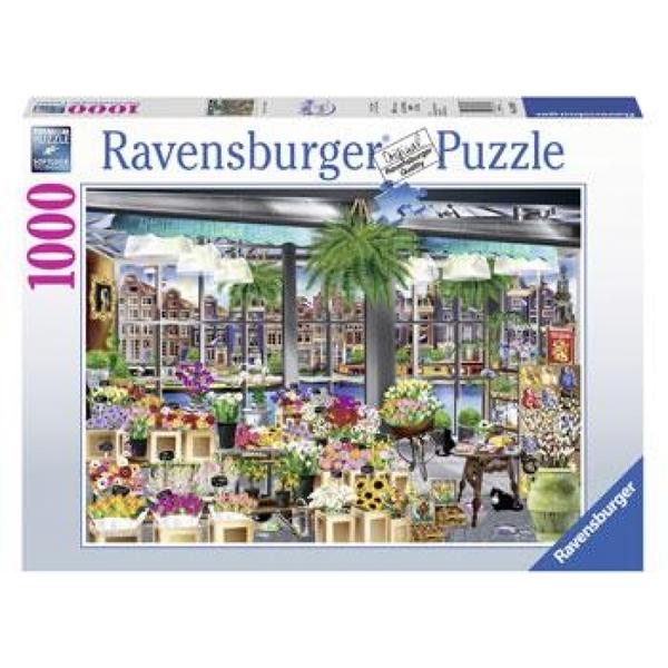 P795: 1000 piece Puzzle - Amsterdam Flower Market