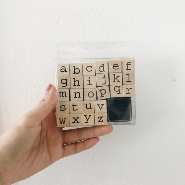 A261: Alphabet Stamps