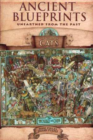 P152: 1000 piece Puzzle - World of Cats