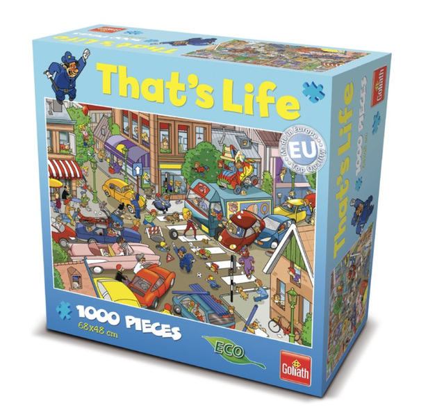 P244: 1000 piece Puzzle - That's Life - Traffic