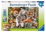 P041: 200 piece Puzzle - Big Cat Nap