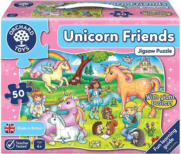 P810: Unicorn Friends Puzzle