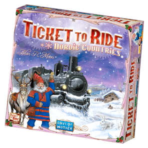 H046: Ticket to Ride - Nordic Countries - Game