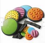 CBFR165: Tactile Disc Stepping Stones