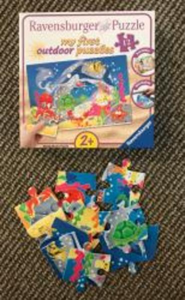 A10: Ravensburger outdoor puzzle